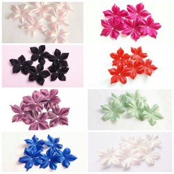 Pré-commande 20 fleurs en satin de soie